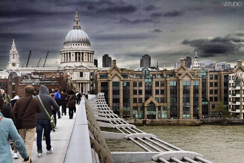 Photograph London - Millenium Bridge I by NSTUDIO PHOTO on 500px