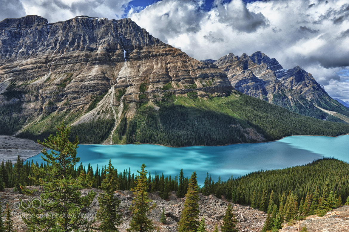 Photograph A Peyto Lake Moment by Jeff Clow on 500px