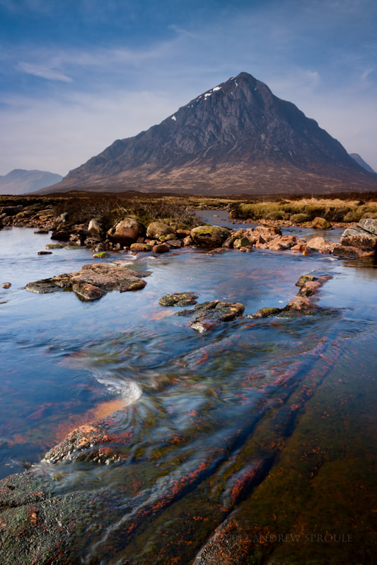Photograph Buachaille Etive Mòr by Andrew Sproule on 500px
