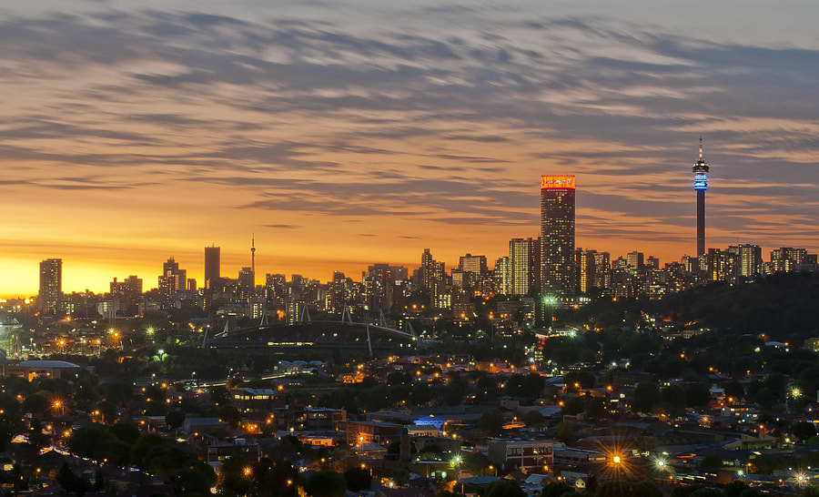 Jozi Citiscape by Andrew Schloesser on 500px.com