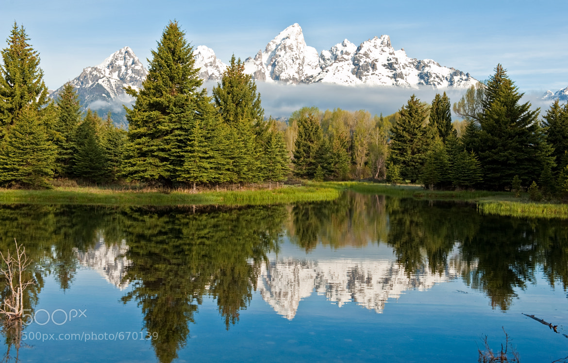 Photograph Low Clouds at Schwabacher by Jeff Clow on 500px