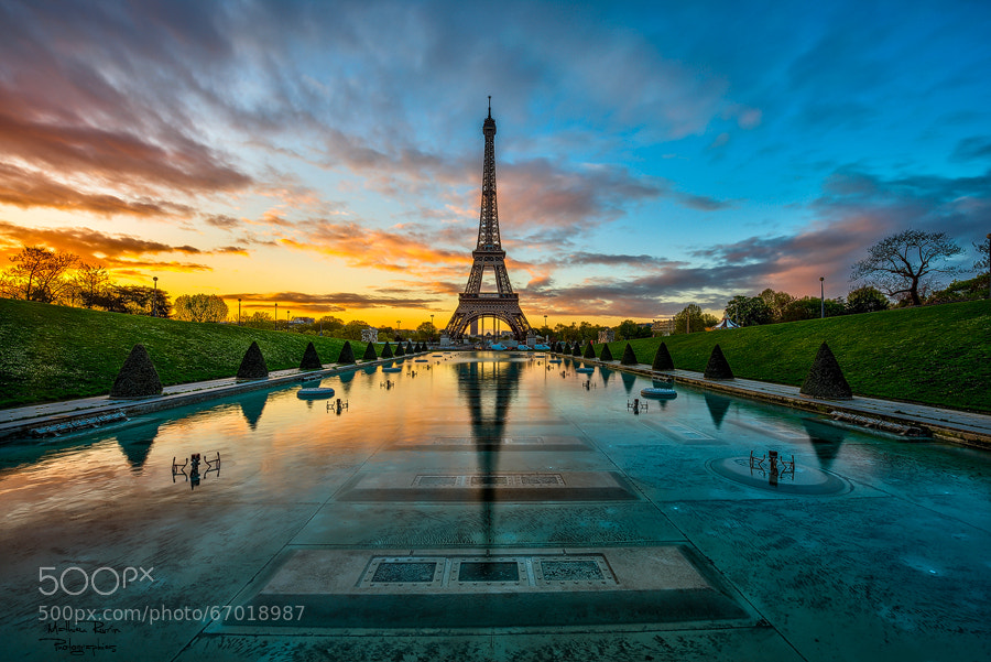 Photograph Sunrise in Paris by Mathieu RIVRIN on 500px