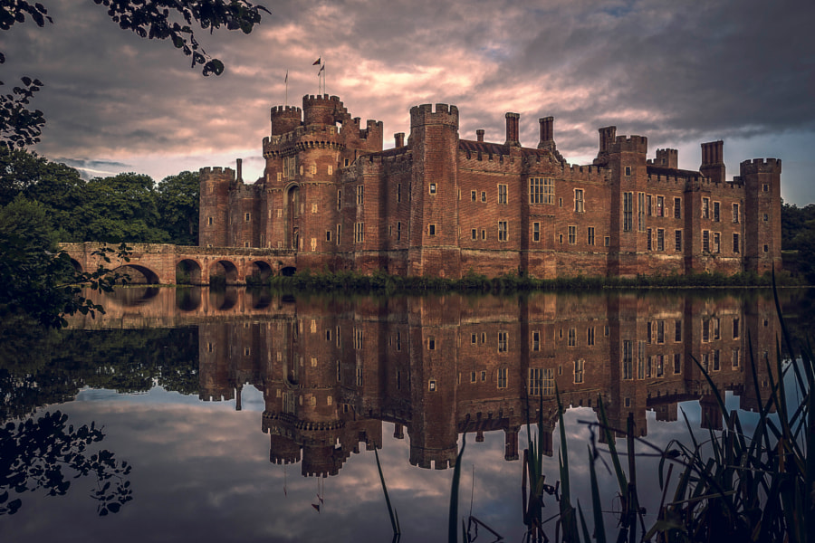 Herstmonceux Castle by Colin Goss on 500px.com