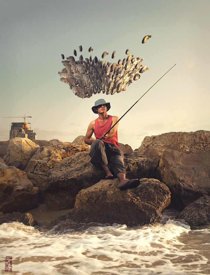 Photograph The Fisherman by Ronen Goldman on 500px
