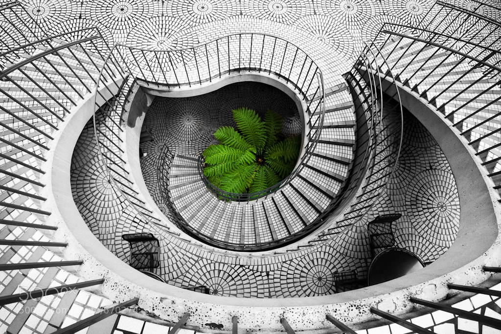 Photograph Embarcadero Stairwell by John Wright on 500px