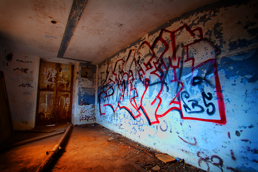 Photograph Bunker Grafitti by John Wright on 500px
