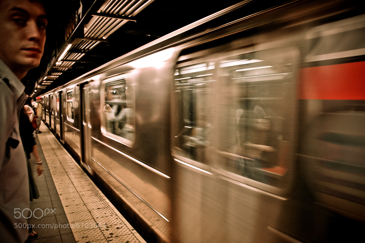 Photograph Broadway Train by Andreas Kurzhals on 500px