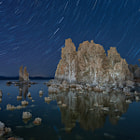 Mono Lake... Tufas...  24mm TS-E...  twenty minute exposure... subtle light painting...  I was hoping that the stars would show up in the reflection, but the water just wasn't still enough this night... (although, you can see some of the big dipper reflected near the center)    thanks for looking!  :)  -Mac