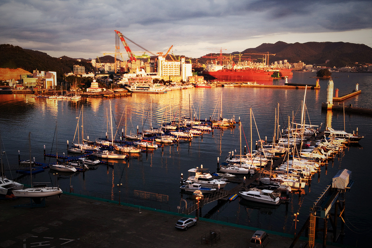Photograph Tongyoung Port by Youngjae Lee on 500px