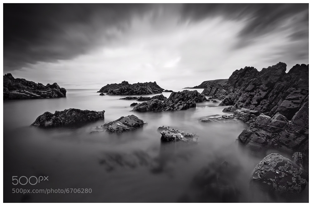 Photograph Marloes in mono by Geoffrey Baker on 500px