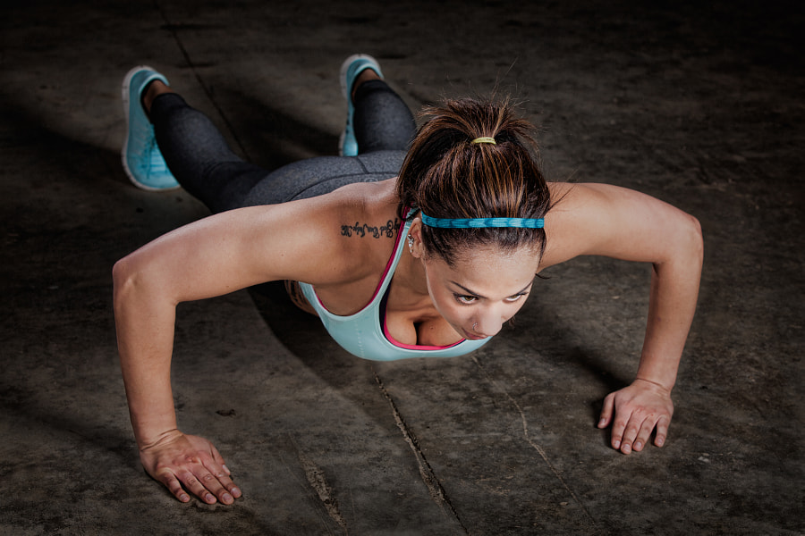 fitness with push ups by Ben North on 500px.com
