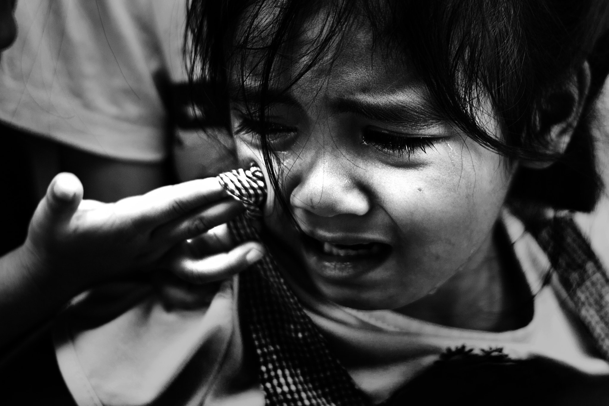 Photograph When Children Cry  by Mixrinho Suphamongkol on 500px