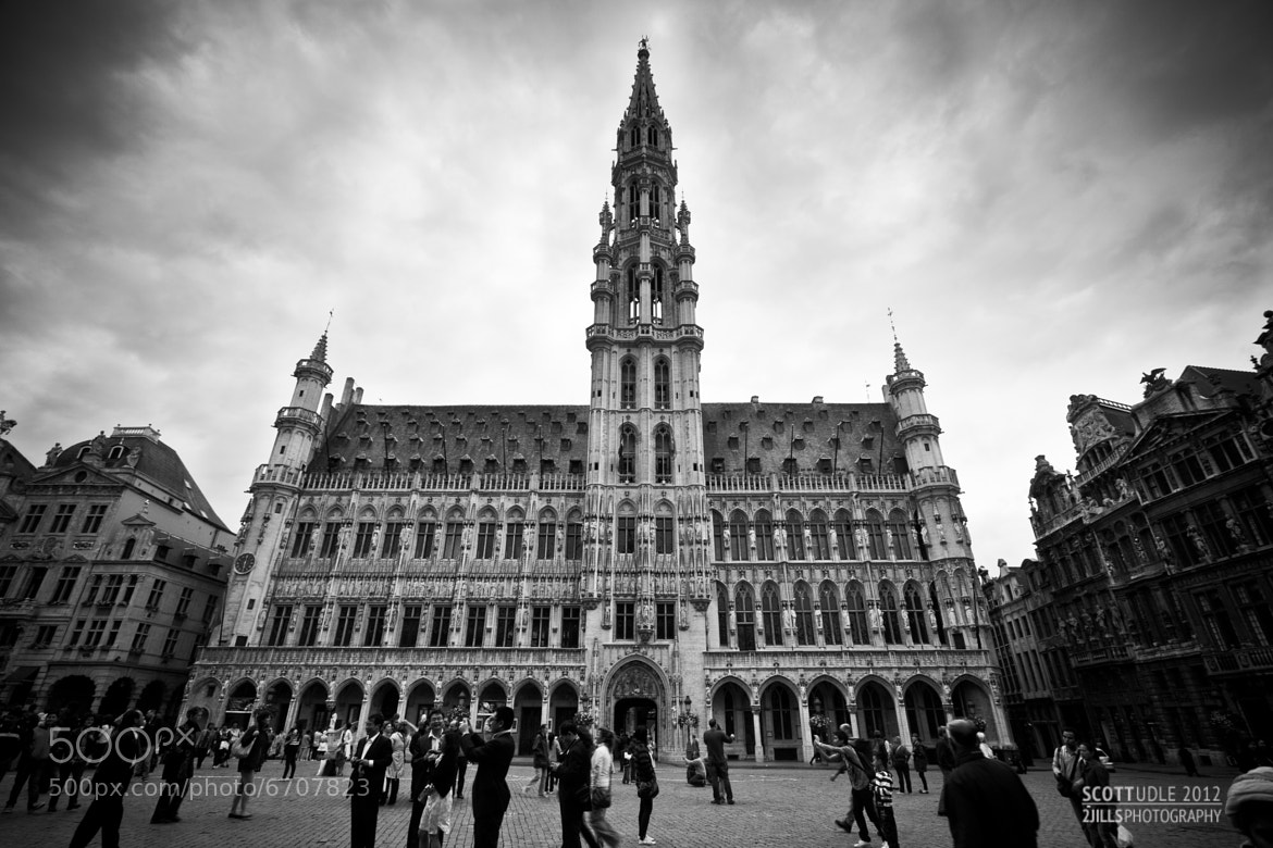 Photograph Town Hall, Grand Place by Scott Udle on 500px