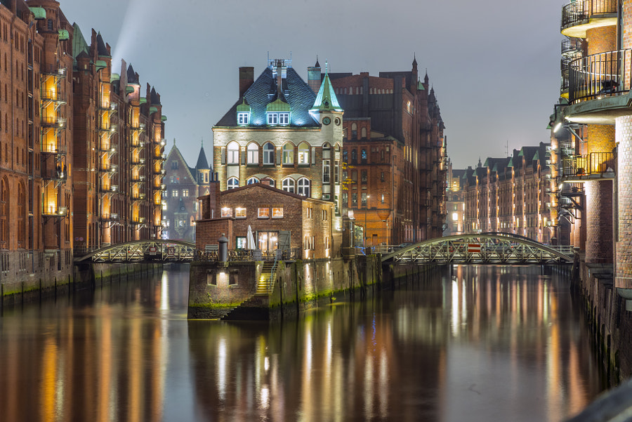 Photograph Speicherstadt by DragosGrigore on 500px