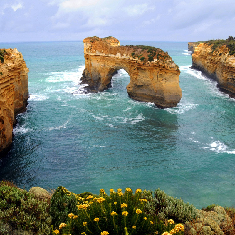 Photograph  Great Ocean Road Australia Island Archway by Franco Mottironi on 500px