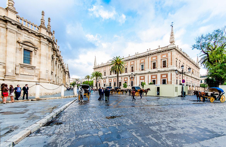 Photograph Calle de los Alemanes, Sevilla by Laurent Staes on 500px