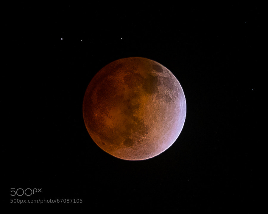 Photograph Blood Moon - Sierra Nevada by Doug Jones on 500px