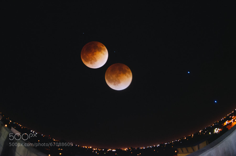 Photograph Blood Moon by Christian  Garcia  on 500px