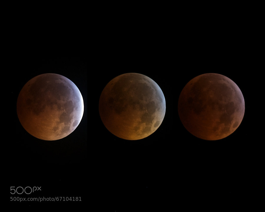 Photograph Three Moons II by Kenton Miller on 500px