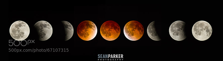 Photograph Total Lunar Eclipse by Sean Parker on 500px