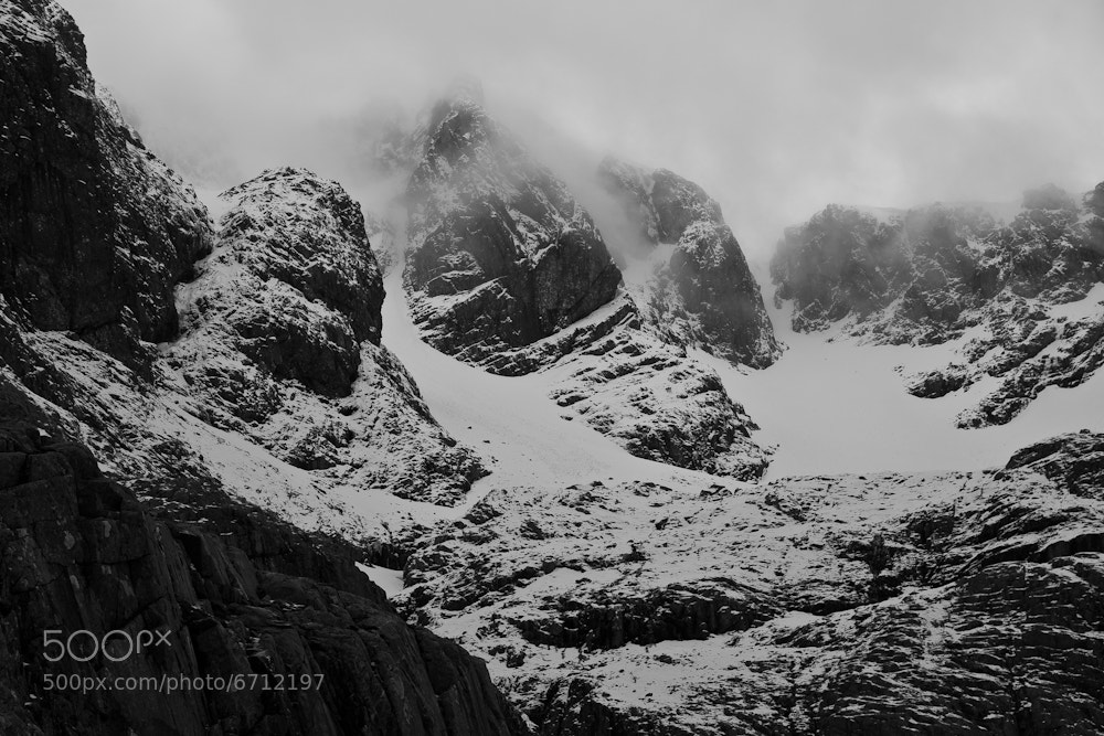 Photograph Coire na Ciste by Matthew Hellewell on 500px