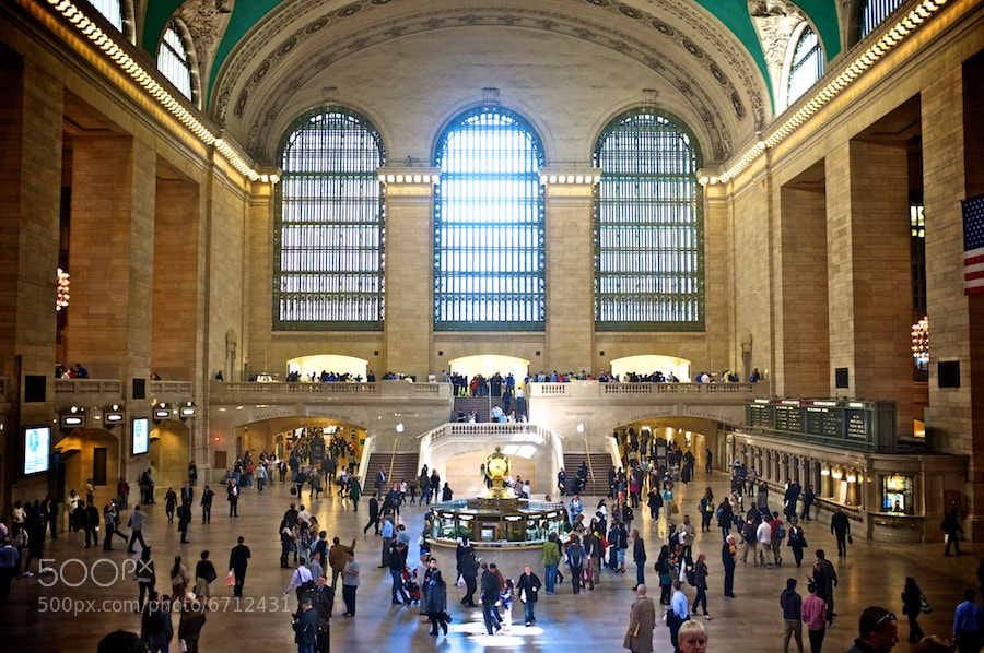 Photograph Grand Central Station by Rhys Hastings on 500px