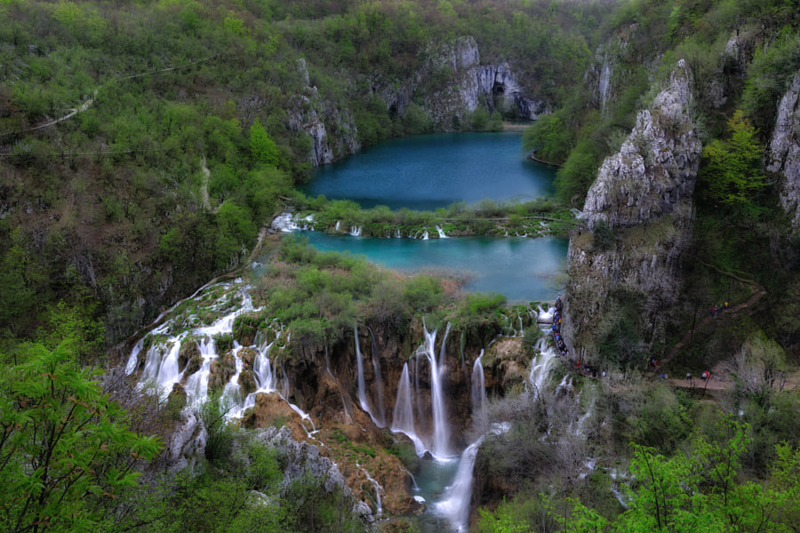 Spring at the Plitvice Lakes by Vesna Zivcic on 500px.com