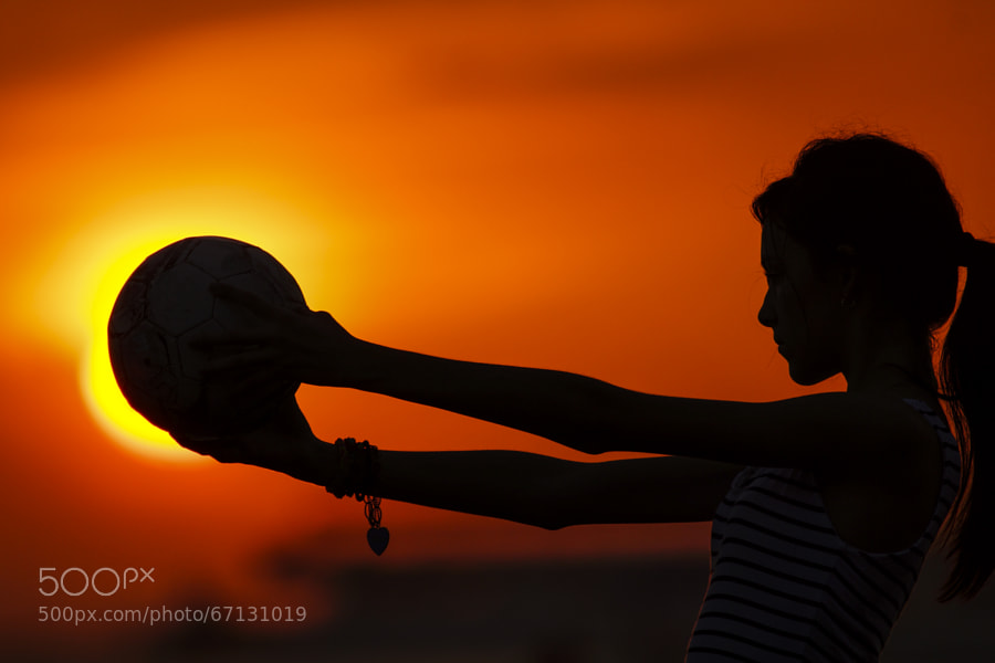 Photograph She and the soccer ball by Kryssia Campos on 500px