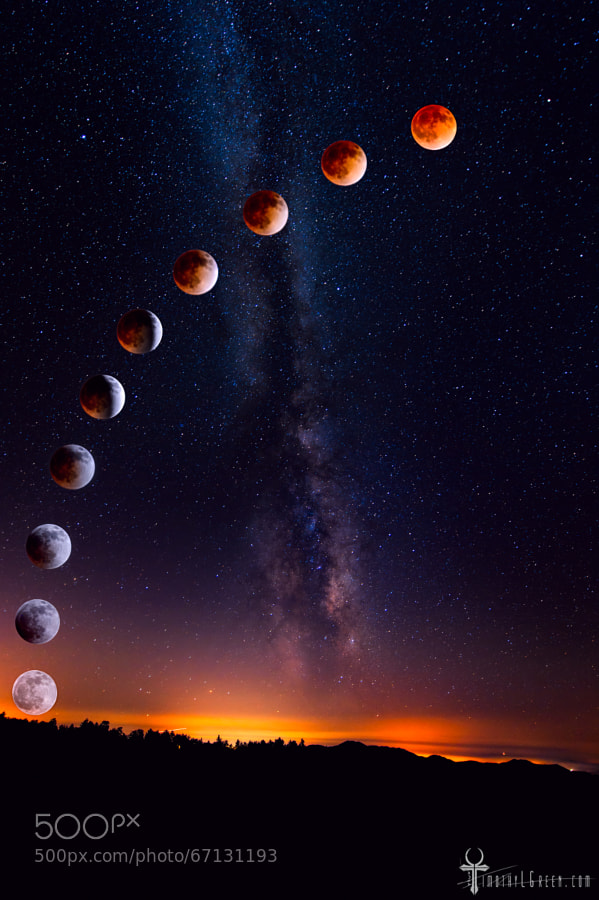Photograph The Blood Moon by Timothy Green on 500px