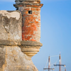 ������, ������: Spanish Fort with Galleon