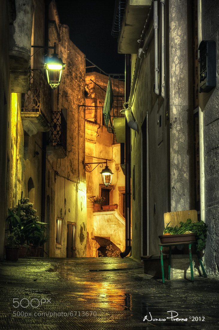 Photograph Selling at night by Nunzio Prenna on 500px