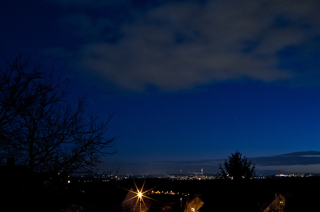 Photograph Stuttgart by Night by Geronimo Schmidt on 500px
