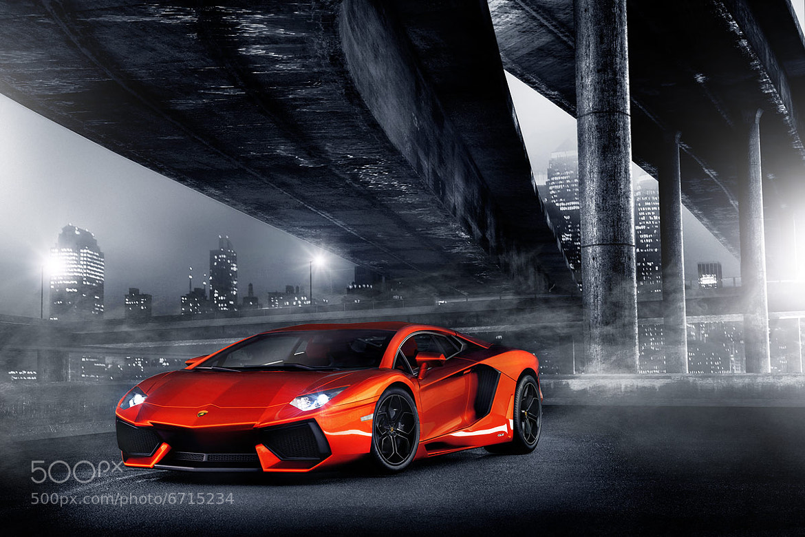 Photograph Lamborghini Aventador by Steve Demmitt on 500px