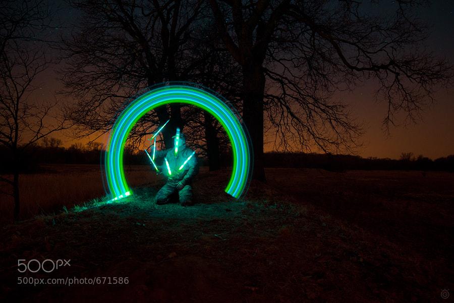 Photograph Night Painter by Wojciech Grzanka on 500px