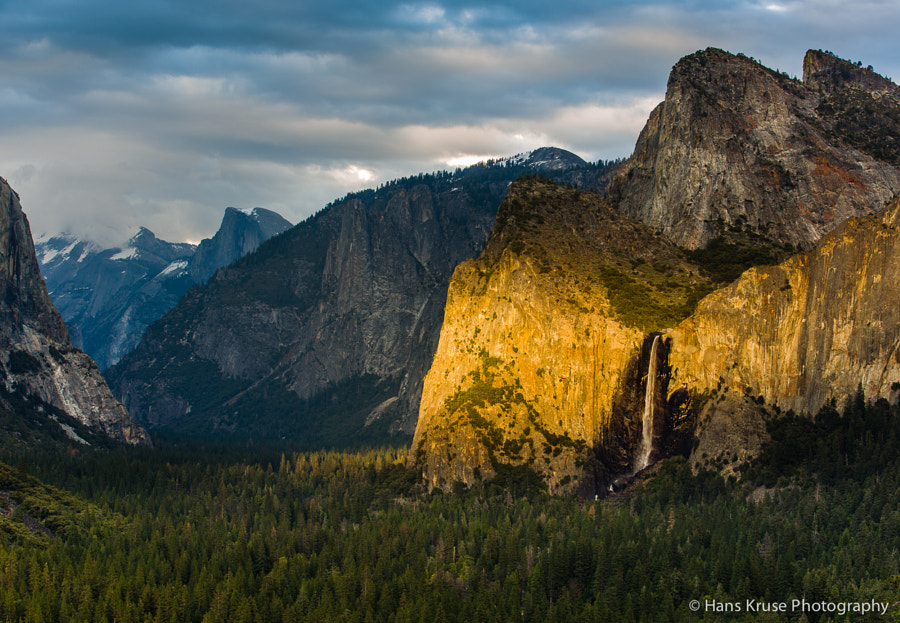 This photo was shot the last afternoon in Yosemite during my trip to the USA in March 2014.