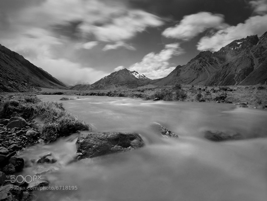Photograph Tasman Valley by William Ophuis on 500px