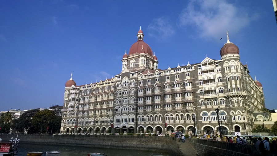 The Taj Mahal Hotel , Mumbai by Aamod Potdar on 500px.com