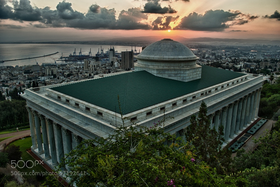 Photograph The Universal House of Justice HDR by Payam Mazloum on 500px