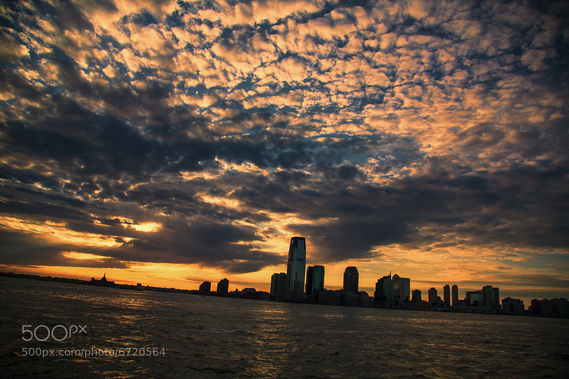Photograph Sunset over Hudson by Mark Fayngersh on 500px