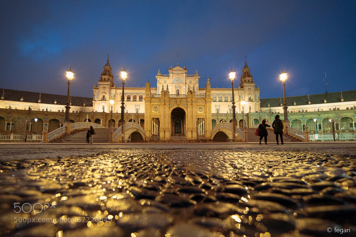 Photograph Plaza de España by fegari  . on 500px
