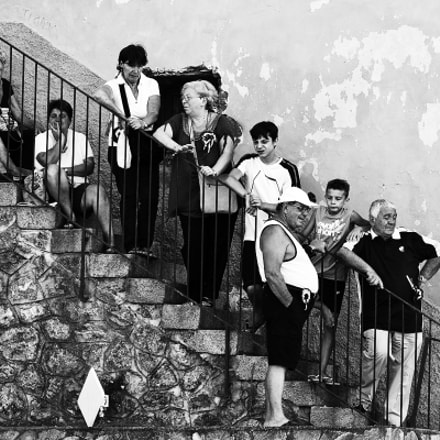 Life on the stairs