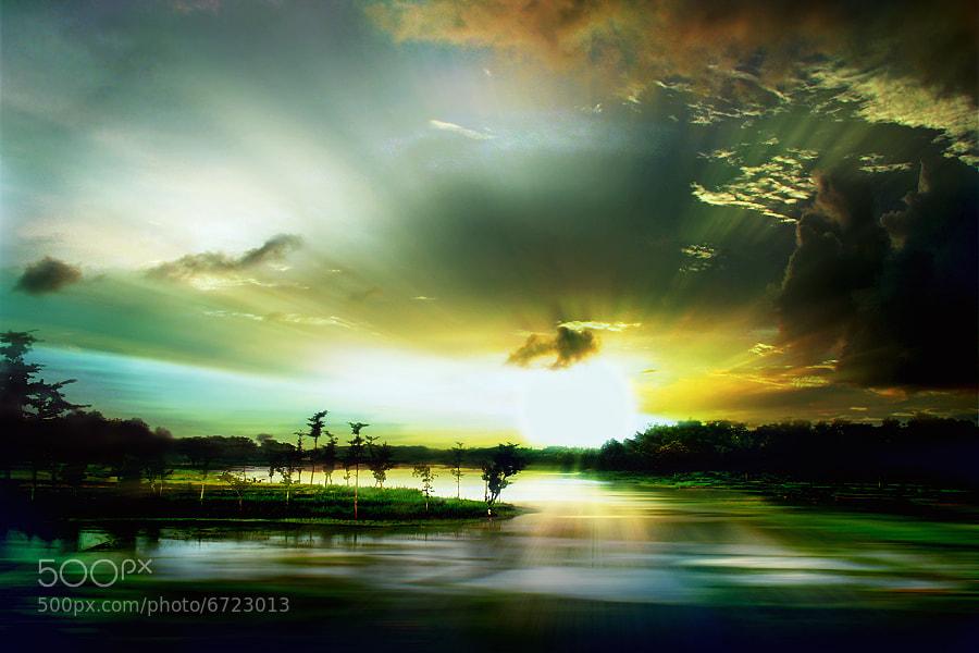 Photograph Morning in Gajah Mungkur by 3 Joko on 500px