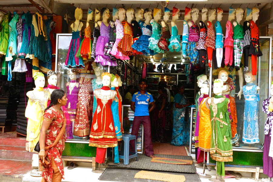 Clothes shop in Jaffna, Sri Lanka by Mohan De Zoysa on 500px.com