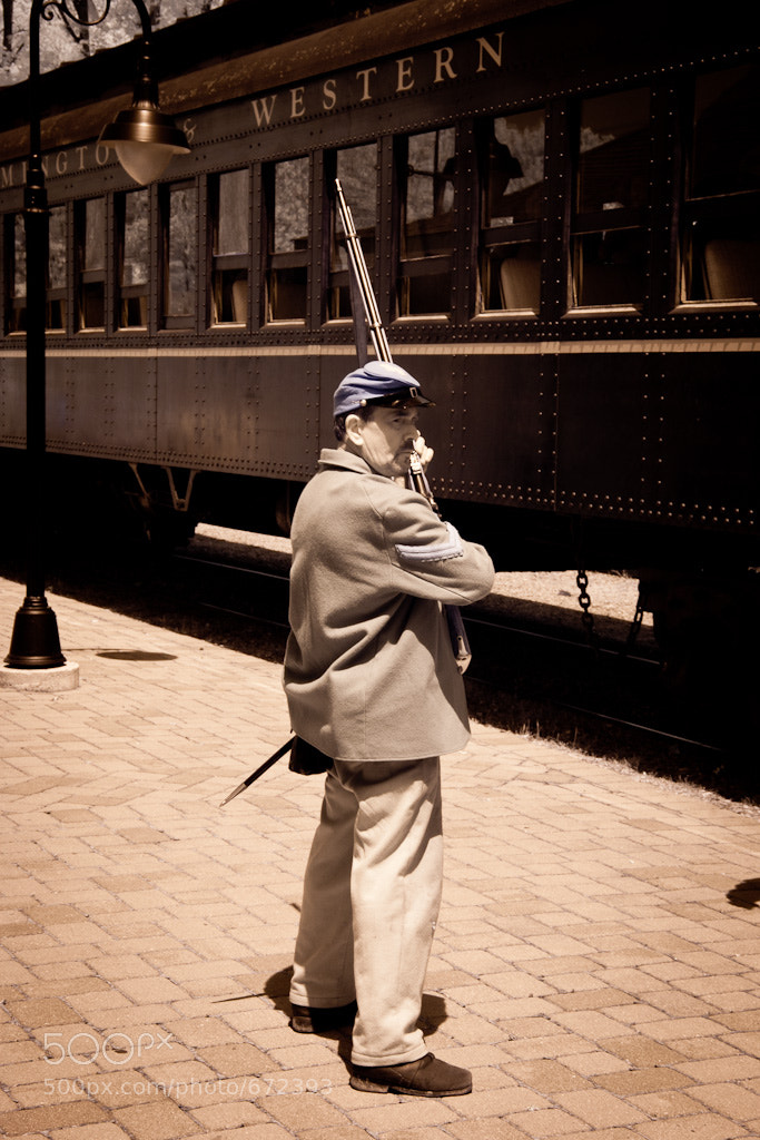 Photograph Union Troops Guarding the Train by Mark Anderson on 500px