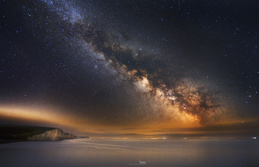 Milkyway at Seven Sisters Cliff