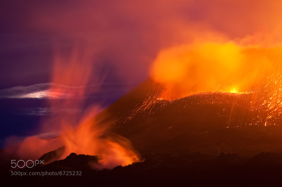 Photograph [ ... Eruption ] by Raymo-Photography on 500px