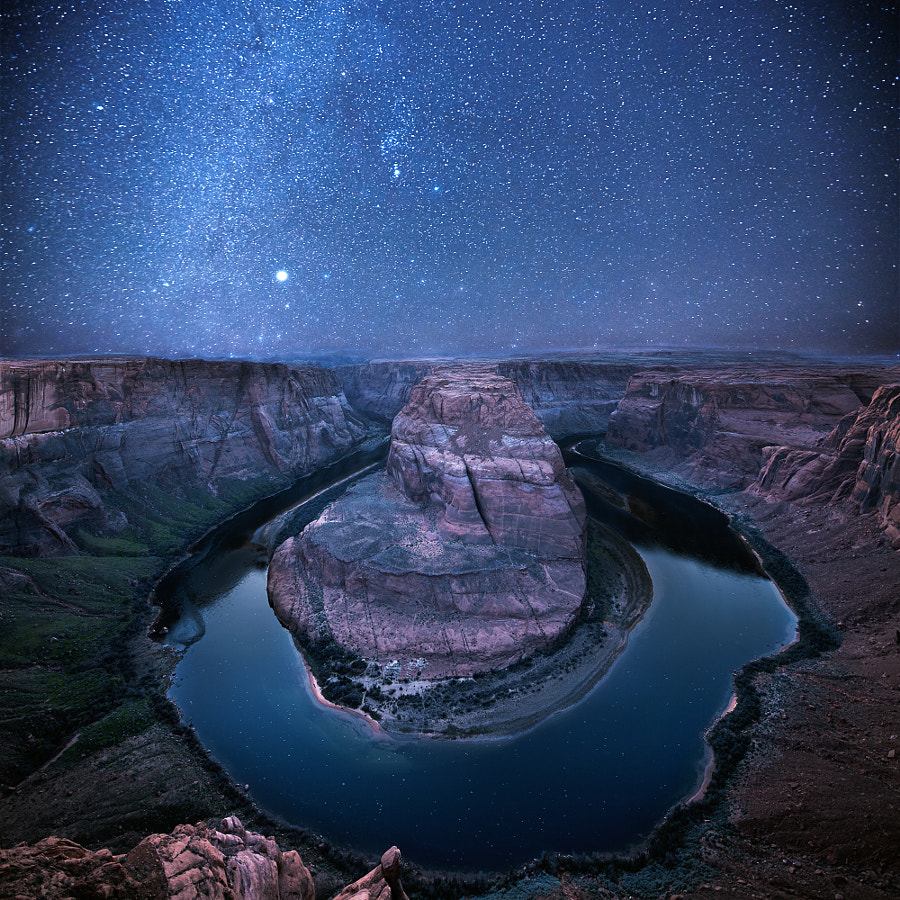 An Evening at Horseshoe Bend by Rick Rose on 500px.com