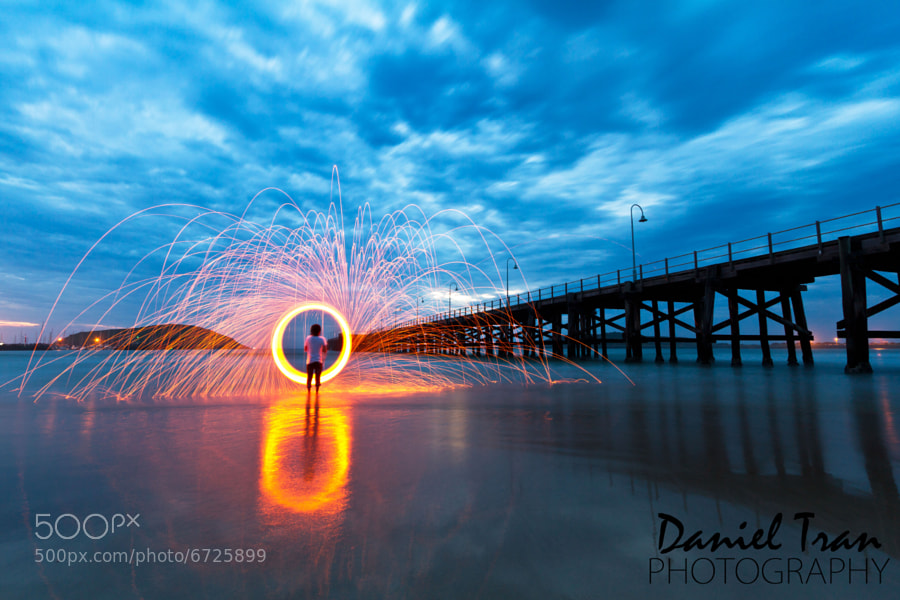 Photograph Spark by Daniel Tran on 500px