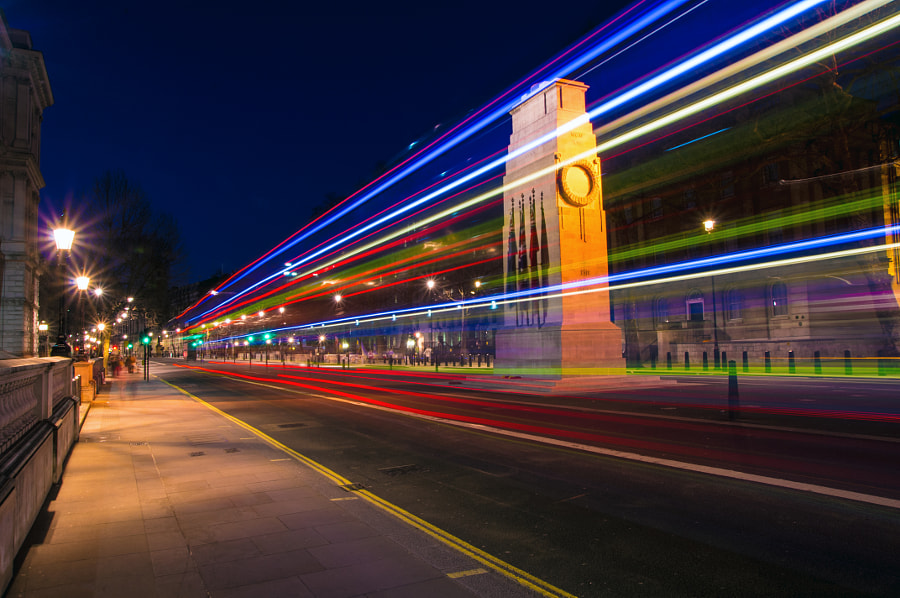 Light Trail by Chris Talbot on 500px