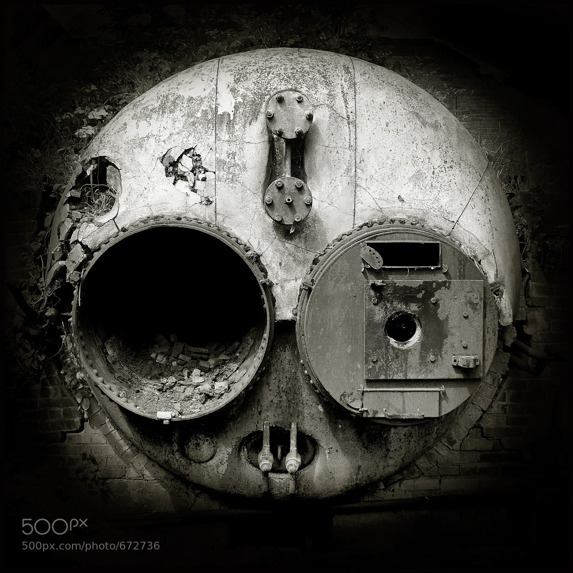 Photograph The Skull by Christophe Regnaud on 500px